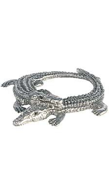Alligator Napkin Rigs (Pewter) available at FernLily.com