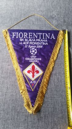 football pennants,UEFA Champions League,Football clubs, Fiorentina, Slavia Praha | eBay