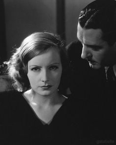 Greta Garbo and John Gilbert photographed by Edward Steichen for A Woman of Affairs, 1928