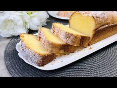 Rýchly recept na pieskový koláč - jednoducho šťavnatý a chutný - YouTube Easy Cake Recipes, Bread Recipes, Biscuits, Biscuit Cake, Cornbread, French Toast, Cooking, Breakfast, Ethnic Recipes