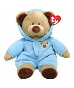 f6d69c3e5dc Beanie Babies Blue PJ Baby Bear Beanie Baby Plush Toy