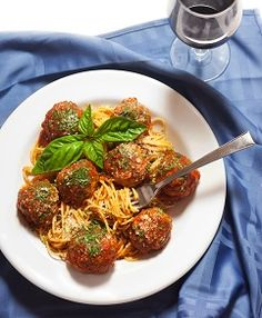 Spaghetti Meatballs © 2013 by Patsy's Italian Restaurant. All rights reserved. Healthy Italian Recipes, Sicilian Recipes, Italian Foods, Delicious Recipes, Frank's Restaurant, Restaurant Recipes, Italian Restaurants Nyc, Best Spaghetti, Spaghetti And Meatballs