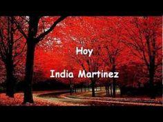 Hoy (letra) India Martinez - YouTube