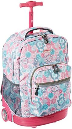 2. J World New York Sundance Rolling Backpack | Back to School ...