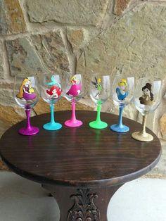 Princess Wine Glasses