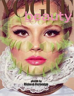 Magdalena Frackowiak is captured by Richard Burbridge for the April 2011 issue of Vogue Italia. Styling by Robbie Spencer.
