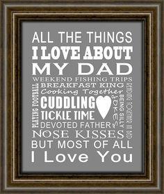 Geschenke für Papa  Geschenk für Papa  Geschenk von iNKYSQUIDSTUDIO
