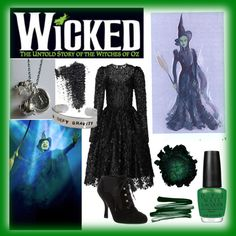 Wicked - Elphaba if there is ever a concert version available and I direct… Broadway Costumes, Wicked Costumes, Theatre Costumes, Halloween 2015, Halloween Cosplay, Holidays Halloween, Halloween Costumes, Wicked Witch, Wicked Musical