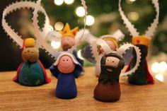 fimo ornaments 1