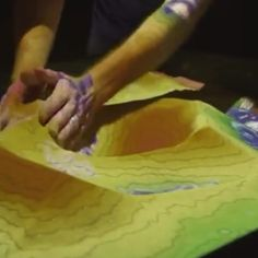 Trippy Augmented Reality Sandbox Lets You Move Mountains and Make it Rain