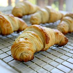 Cannella Vita: butter croissants. Have you read this girl's blog? She is in high school, but writes and bakes like she is well into her 30s. What a sweet old soul she has, and her photographs are amazing too.