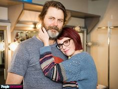 Nick Offerman & Megan Mullally: Why Working Together Works for Us