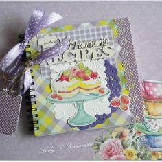Notes kulinarny z tortem - Notesy - Papier