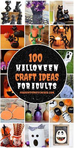Spooky Halloween Crafts, Fete Halloween, Halloween Projects, Diy Halloween Decorations, Holidays Halloween, Halloween Centerpieces, Halloween Stuff, Halloween Ideas, Adult Halloween