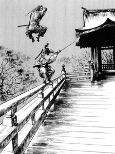 Geniales posters samurais... pasa o moriré...
