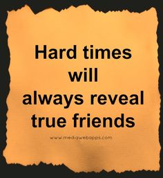 And what happens when true friends...aren't?