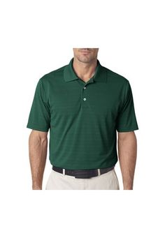 Adidas Men Textured Polo