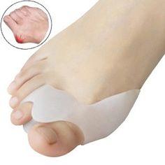 1 Pack Mềm Silicone Gel Toe Separators Ép Bunion Protector Pain Relief Cushion Pad Chăm Sóc Bàn Chân Chỉnh Hallux Valgus