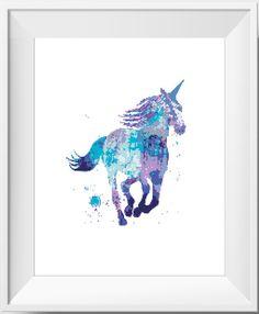 Unicorn PDF Cross Stitch Pattern von NikkiPattern auf Etsy