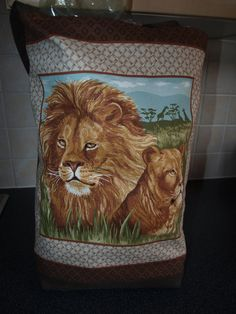 Check out this item in my Etsy shop https://www.etsy.com/listing/155826859/a-very-proud-king-of-the-jungle-with-his