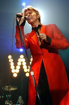 David Bowie life in pix: David Bowie in Concert at Roseland