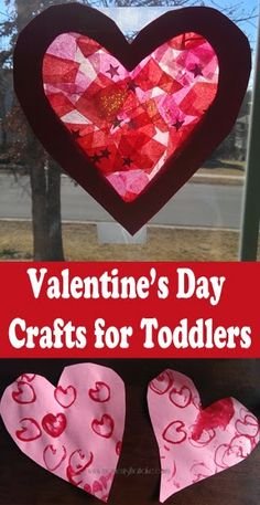 Valentine's Day Crafts for Toddlers                                                                                                                                                                                 More