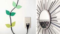 Le masking tape peut aussi servir à embellir la déco ou les access oires de la maison. Une superbe idée DIY ! http://www.deco.fr/loisirs-creatifs/actualite-825462-diy-8-idees-decorer-murs-masking-tape.html