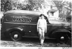 Bob and His Quick Service Laundry Truck