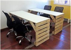 pallets office furniture