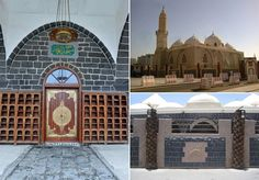 """Masjid Al-Ghamamah is located close to the Masjid Al-Nabawi (S.A.W.W) in #Madina. The word """"Ghamam"""" in Arabic means clouds. This mosque has been given this name because it is the place where Prophet MUHAMMAD (PBUH) prayed for rainfall after which it rained profusely. This mosque was built on the place where Prophet MUHAMMAD (PBUH) performed the Salat Al-Eid and Salat Al-Istesqa'a. #SUBHANALLAH #IslamicMosque #MasjidAlGhamamah #Madinah #Islam #Muslims #Muslim #Umrah #Ummrah"""