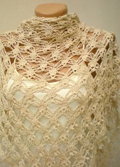 Crocheted Shawls, Shrugs, Capes And Stole Links