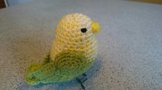 Amigurumi Crochet bird