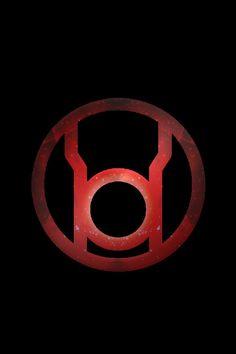 Stary Red Lantern Logo background by KalEl7 on deviantART