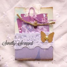Pocket card and tag by Sweetly Scrapped