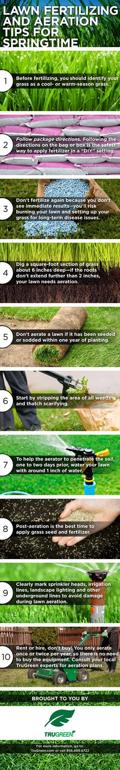 trugreen aeration cost on 38 Lawn Tips Ideas Lawn Care Tips Lawn Care Lawn