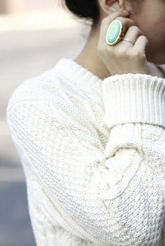 Fisherman's sweater/knit...