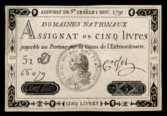 French Franc, Theatre Props, French Revolution, Les Miserables, American History, Vintage World Maps, Cash Money, Vienna, Banknote