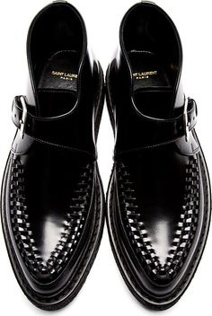Mark Ronson - Look 2 - Saint Laurent http://www.hiphunters.com/shop/saint-laurent-black-monk-strap-creepers42418m049004/53d19fa351b8e07f0b000223