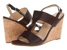 Womens Sandals Cole Haan Adrienne Wedge Chestnut