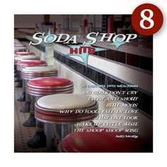 Soda Shop Hits . . . 15 original jukebox hits of the 50s & 60s . . .   INSTRUMENTATION: original recordings . . . RUNTIME: 35:10 . . .   CD: $13.99 . . . http://www.greenhillmusic.com/item/GHD5775_Soda+Shop+Hits