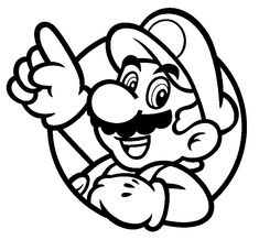 Printable Jigsaw Puzzles To Cut Out For Kids Mario Bros 32 Coloring