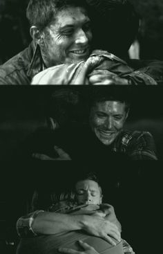 Three hugs in two episodes....
