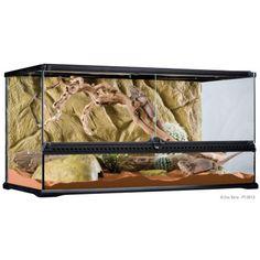 Natural Terrarium Medium Low 24 X18 X12 Exo Terra Leopard