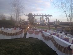 Head table, semi sweetheart. have the party on each side of us with their spouses on the other side for dinner