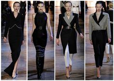 women's fall luxury fashion trend style tip; Yves Saint Laurent from Paris