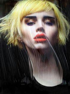 love yellow hair