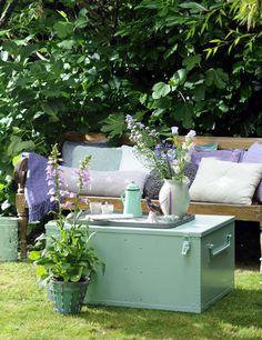 Tuintrend 2014 Tender Things - Romantisch, Pastel, Lente, Outdoor, Trends, Garden, Romantic, Spring <3 Fonteyn