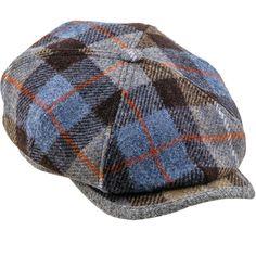 59 NEW $260 DOLCE /& GABBANA Blue Linen Jeans Logo Newsboy Cap Hat Cabbie s L