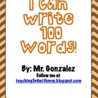 Here is a fun challenge to give to your students on the 100th day of school or use it to motivate students to write. There are 10 different secti...