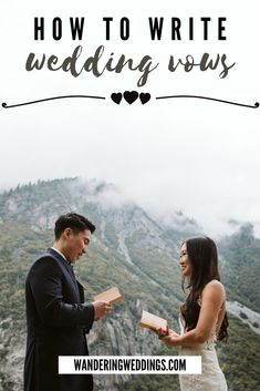 Here are some ideas for wedding vows for your husband or wife. Also find great examples for some inspiration. Photo by Nicole Alex Photography Wedding Planning Tips, Wedding Tips, Wedding Ceremony, Wedding Planner, Writing Wedding Vows, Writing Vows, Love Vows, Vow Book, Custom Book